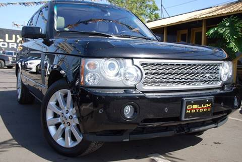 2008 Land Rover Range Rover for sale at Delux Motors in Inglewood CA