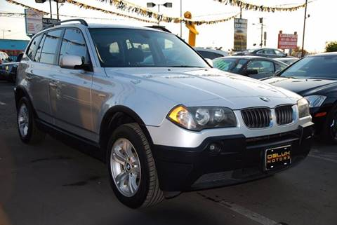 2005 BMW X3 for sale at Delux Motors in Inglewood CA
