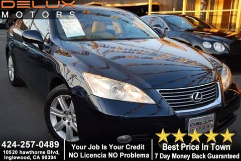 2007 Lexus ES 350 for sale at Delux Motors in Inglewood CA
