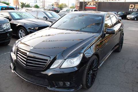 2010 Mercedes-Benz E-Class for sale at Delux Motors in Inglewood CA