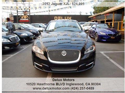2012 Jaguar XJL for sale at Delux Motors in Inglewood CA