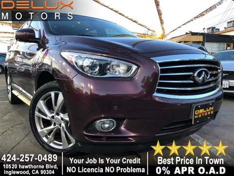 2013 Infiniti JX35 for sale in Inglewood, CA