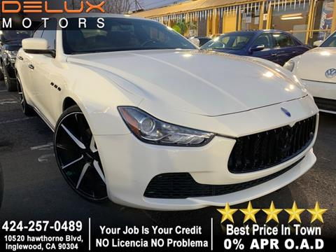 used 2014 maserati ghibli for sale in california - carsforsale®