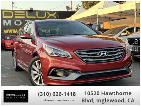 2016 Hyundai Sonata for sale at Delux Motors in Inglewood CA