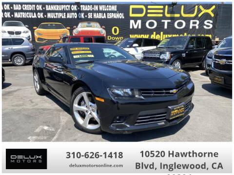 2015 Chevrolet Camaro for sale at Delux Motors in Inglewood CA