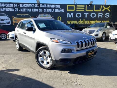 2015 Jeep Cherokee for sale at Delux Motors in Inglewood CA