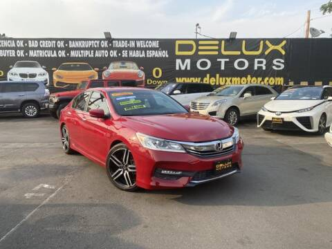 2017 Honda Accord for sale at Delux Motors in Inglewood CA