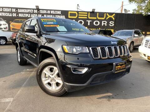 2017 Jeep Grand Cherokee for sale at Delux Motors in Inglewood CA