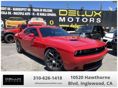 2016 Dodge Challenger for sale at Delux Motors in Inglewood CA
