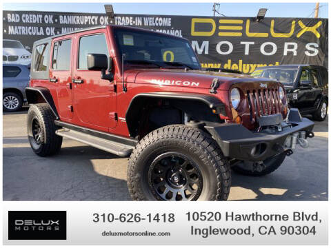 2008 Jeep Wrangler Unlimited for sale at Delux Motors in Inglewood CA
