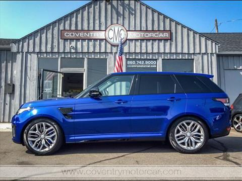2015 Land Rover Range Rover Sport for sale in Coventry, CT