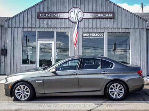 2014 BMW 5 Series for sale in Coventry, CT