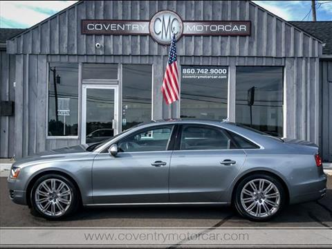 2013 Audi A8 for sale in Coventry, CT