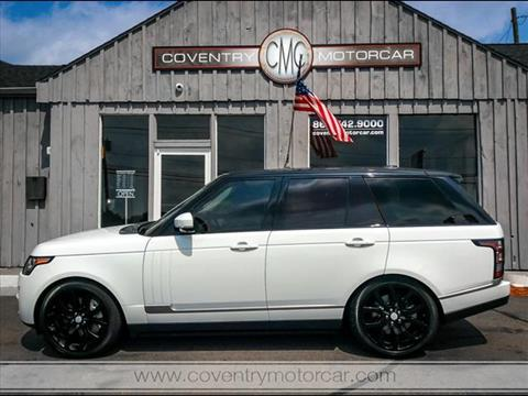 2015 Land Rover Range Rover for sale in Coventry, CT