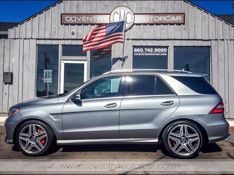 2012 Mercedes-Benz M-Class for sale in Coventry, CT