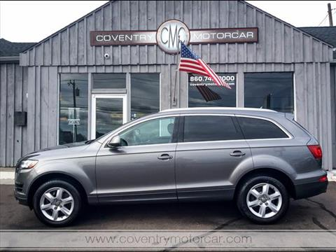 2013 Audi Q7 for sale in Coventry, CT