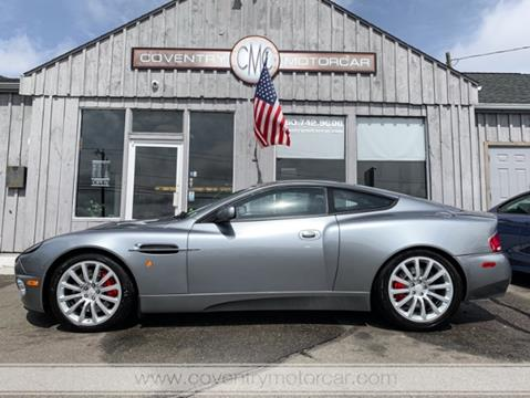 2003 Aston Martin V12 Vanquish for sale in Coventry, CT
