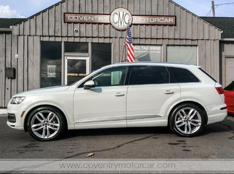 2017 Audi Q7 for sale in Coventry, CT