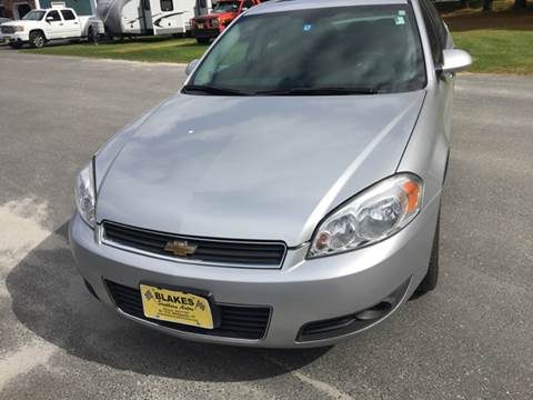 2009 Chevrolet Impala for sale in East Montpelier, VT