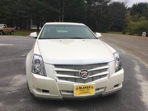 2008 Cadillac CTS for sale in East Montpelier, VT
