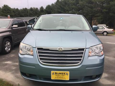 2010 Chrysler Town and Country for sale in East Montpelier VT