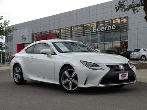 2016 Lexus RC 200t for sale in Boerne, TX