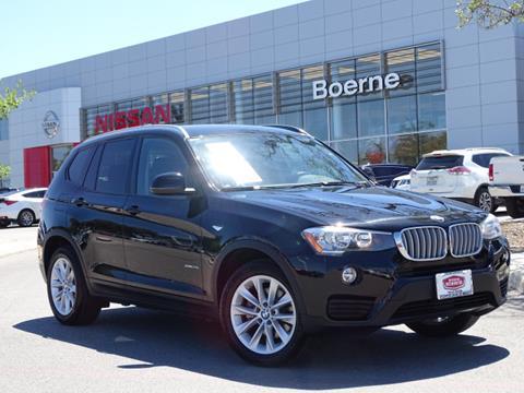 2016 BMW X3 for sale in Boerne, TX