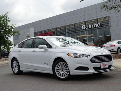 2016 Ford Fusion Hybrid for sale in Boerne, TX