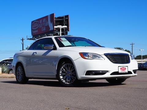 2013 Chrysler 200 Convertible for sale in Boerne, TX