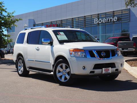 2012 Nissan Armada for sale in Boerne, TX