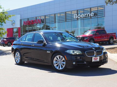 2016 BMW 5 Series for sale in Boerne, TX