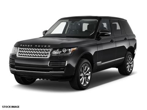 2016 Land Rover Range Rover for sale in Boerne, TX