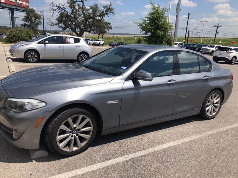 2012 BMW 5 Series For Sale At Nissan Of Boerne In TX