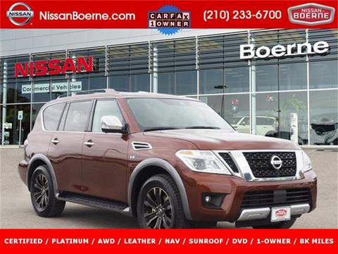 2018 Nissan Armada for sale in Boerne, TX