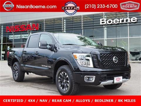 2019 Nissan Titan for sale in Boerne, TX