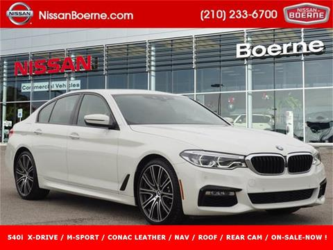 2018 BMW 5 Series for sale in Boerne, TX