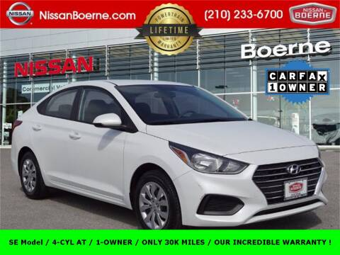 2019 Hyundai Accent SE for sale at Nissan of Boerne in Boerne TX