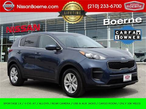 2019 Kia Sportage for sale at Nissan of Boerne in Boerne TX