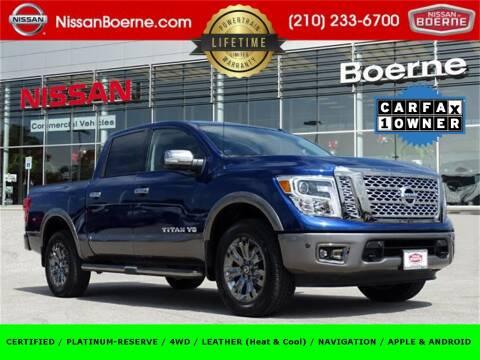2019 Nissan Titan for sale at Nissan of Boerne in Boerne TX