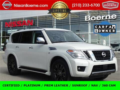 2019 Nissan Armada for sale at Nissan of Boerne in Boerne TX