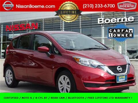 2019 Nissan Versa Note for sale at Nissan of Boerne in Boerne TX