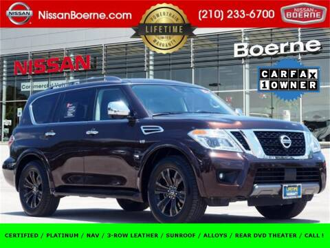 2020 Nissan Armada for sale at Nissan of Boerne in Boerne TX
