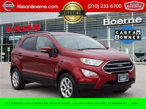 2018 Ford EcoSport for sale at Nissan of Boerne in Boerne TX