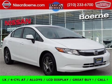 2012 Honda Civic for sale at Nissan of Boerne in Boerne TX