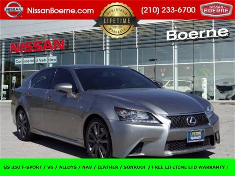 2015 Lexus GS 350 for sale at Nissan of Boerne in Boerne TX