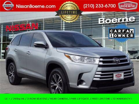 2019 Toyota Highlander for sale at Nissan of Boerne in Boerne TX