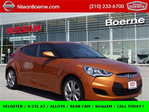 2016 Hyundai Veloster for sale at Nissan of Boerne in Boerne TX