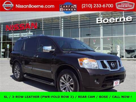 2015 Nissan Armada for sale at Nissan of Boerne in Boerne TX