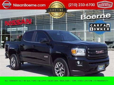 2018 GMC Canyon for sale at Nissan of Boerne in Boerne TX