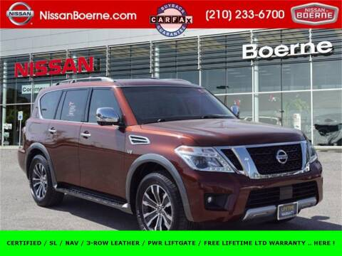 2018 Nissan Armada for sale at Nissan of Boerne in Boerne TX
